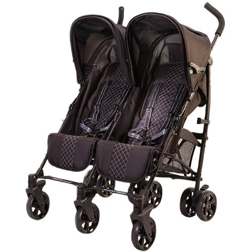 Twice Stroller-Black