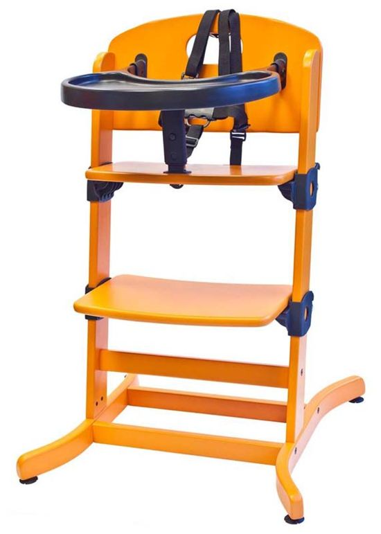 Banquet High Chair Oragne