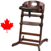 Banquet Wooden High Chair