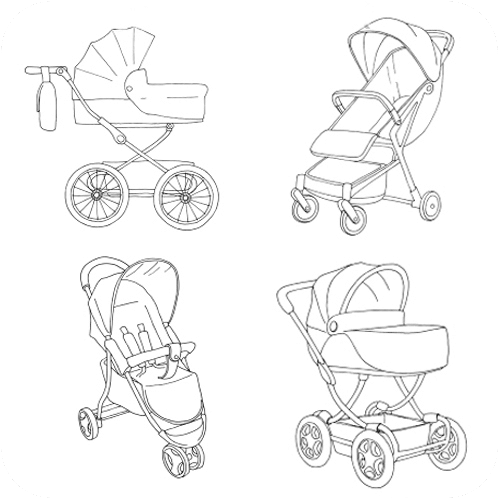 Fits most strollers | Hitch Board