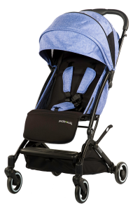 Denimy Blue Oxygen Stroller