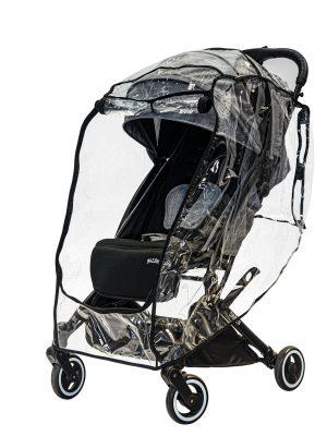 Universal Stroller Raincover_ front zipper open