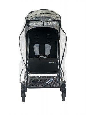 Universal Stroller Raincover_ front open