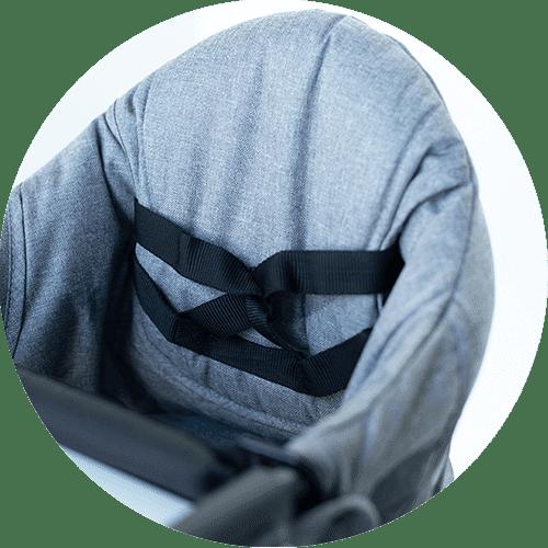 Hidden Pocket-Perch Highchair