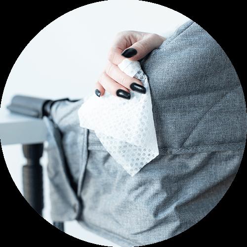 Washable Fabric-Perch Highchair